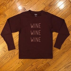 City Streets | WINE WINE WINE Long sleeve Top